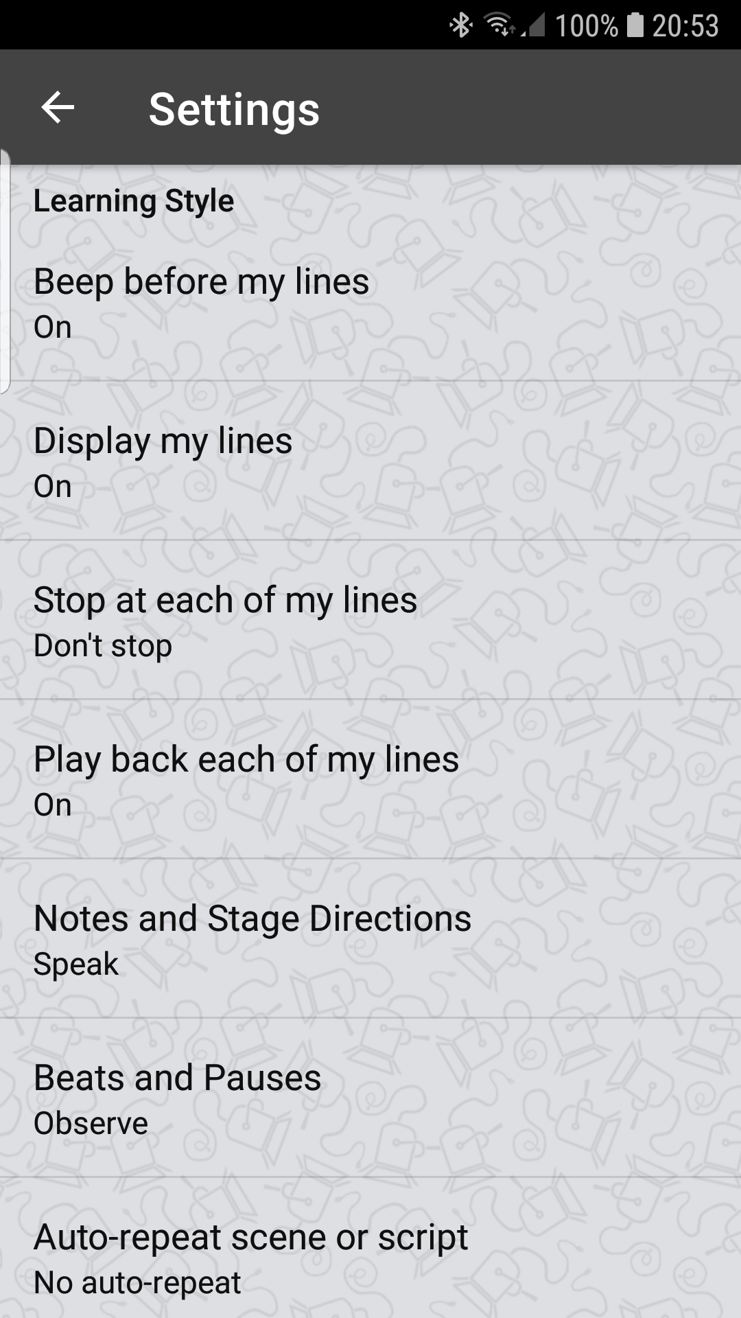 Script Rehearser - The world's favourite rehearsing app